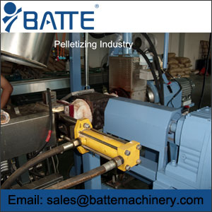 hydraulic screen changer application