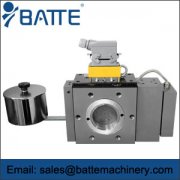 batte extrusion melt filter
